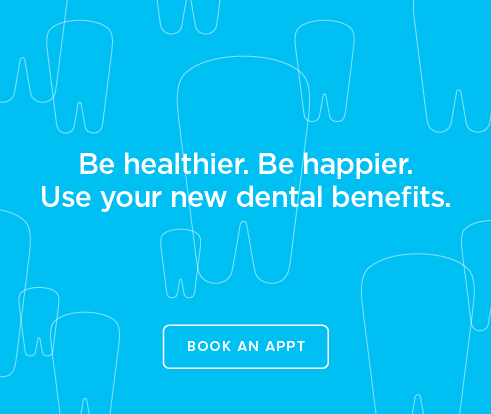 Be Heathier, Be Happier. Use your new dental benefits. - Hamner Dental Group and Orthodontics