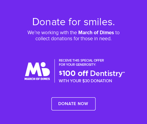 Hamner Dental Group and Orthodontics - March of Dimes